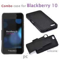 pc+leather case for blackberry Z10|By Brand|