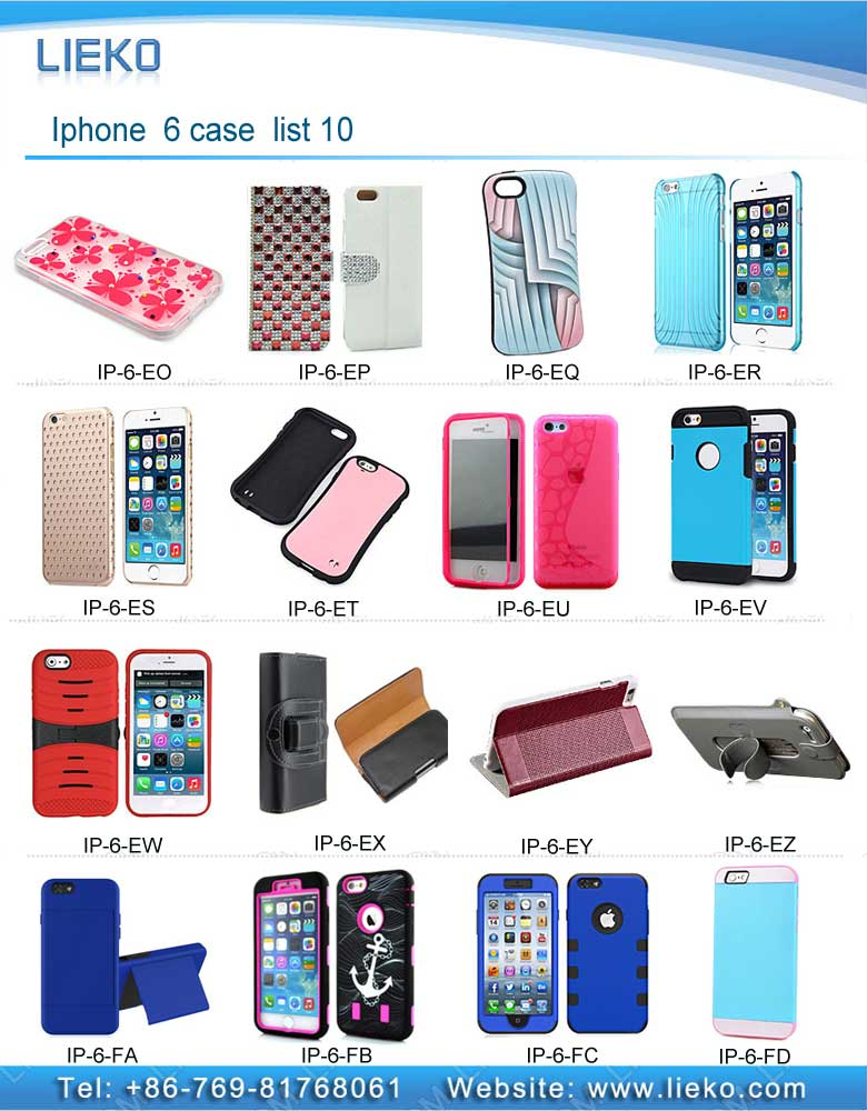 Iphone 6 case list 10|Index Products|