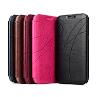 Leather case for Samsung NOTE 4-P|By Brand|