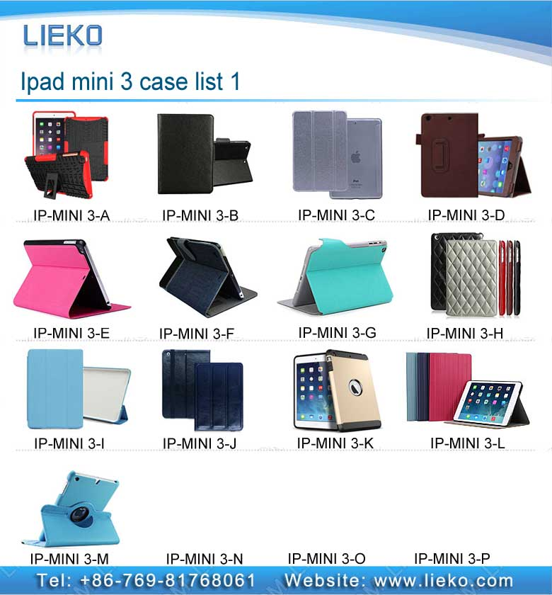 Ipad mini 3 case list-1|Index Products|
