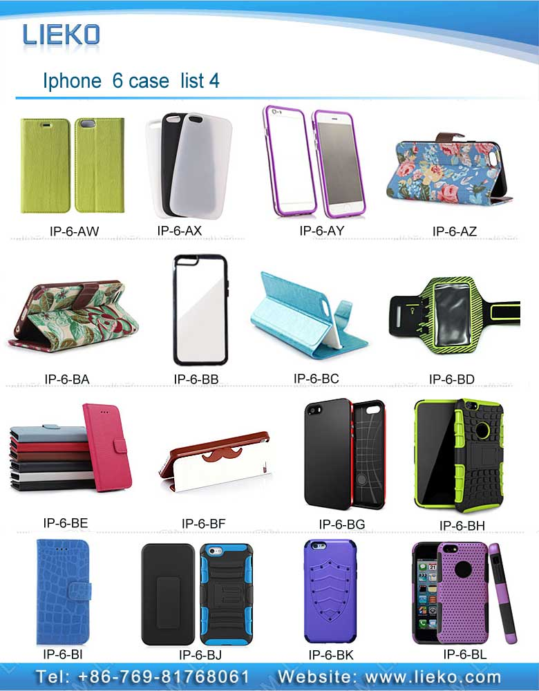 iPhone 6 case list 4|Index Products|