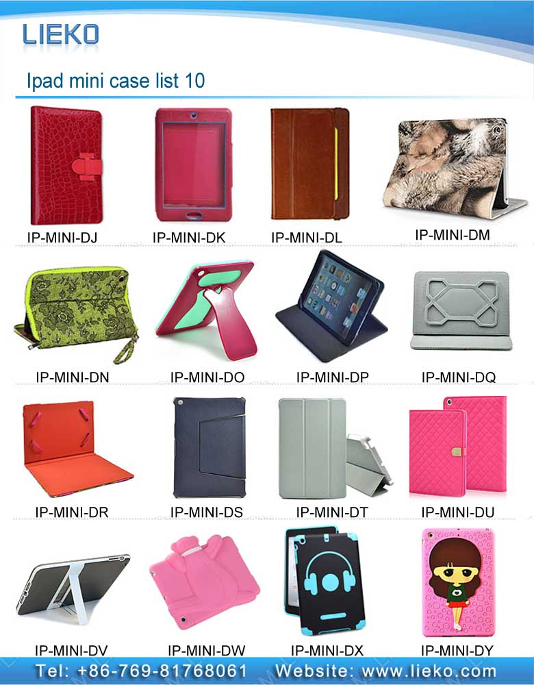 Ipad mini case list 10|Index Products|