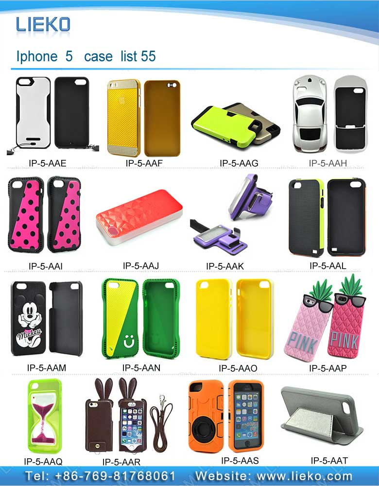 iPhone 5 case list 55|Index Products|
