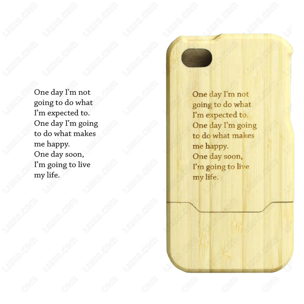 Bamboo Case - Mobile Phone Bamboo Case - Cell Phone Case
