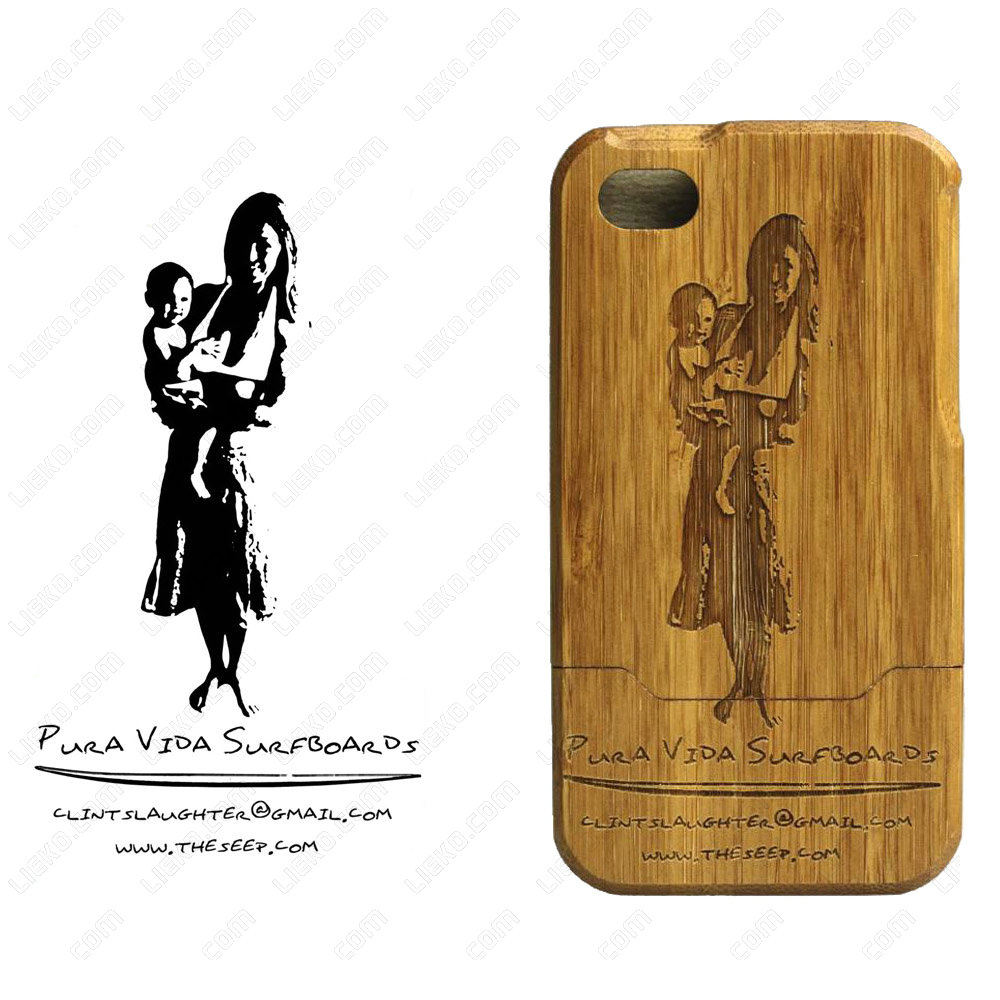 iPhone Bamboo Case - Cell Phone Case