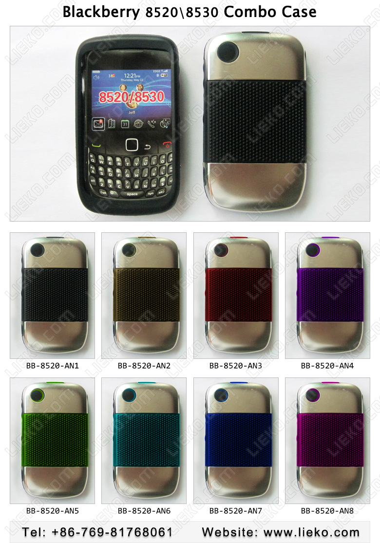 blackberry 8520/8530 combo Protector BB-8520-AN - Blackberry 8520 ...